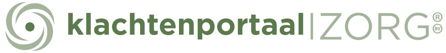 2021 Logo Klachtenportaal Zorg B